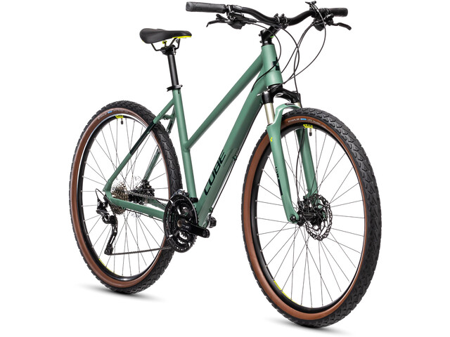 Cube Nature EXC Trapeze, green'n'bluegreen